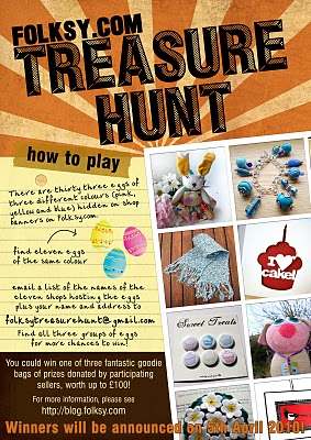 The Folksy Easter Treasure Hunt