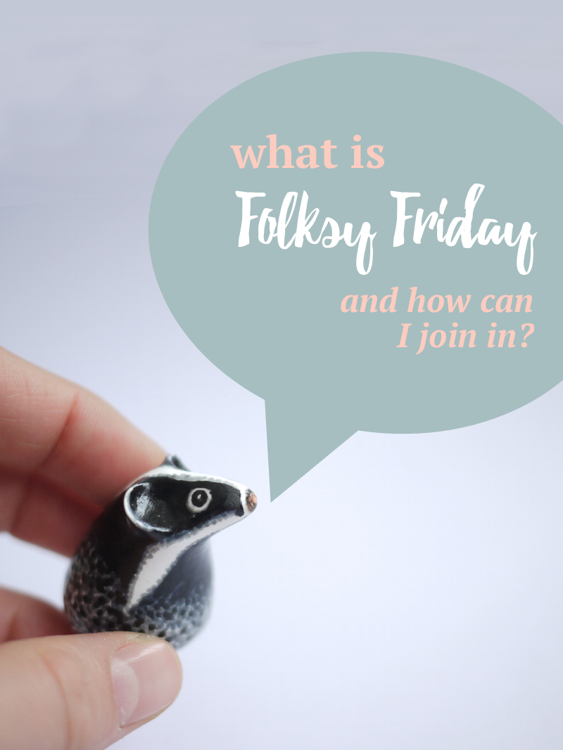 what is Folksy Friday,