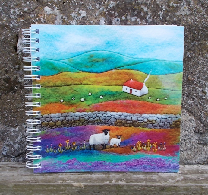 Aileen Clarke, sheep and lamb notebook,