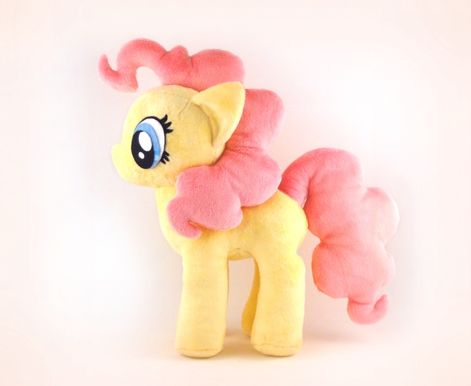 Kawaii cute pony sewing pattern, Patchlings