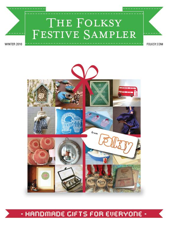 Folksy Christmas Sampler