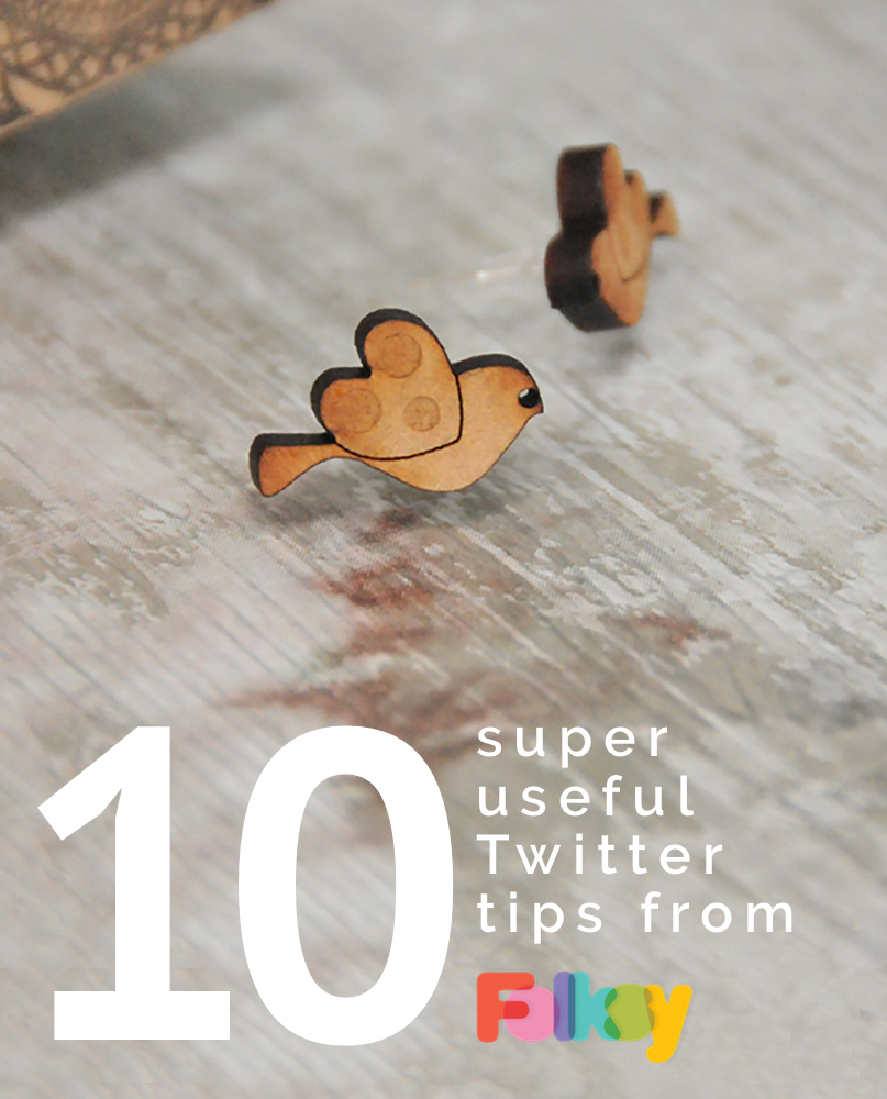 10 Super Useful Twitter Tips, twitter tips, craft seller tips