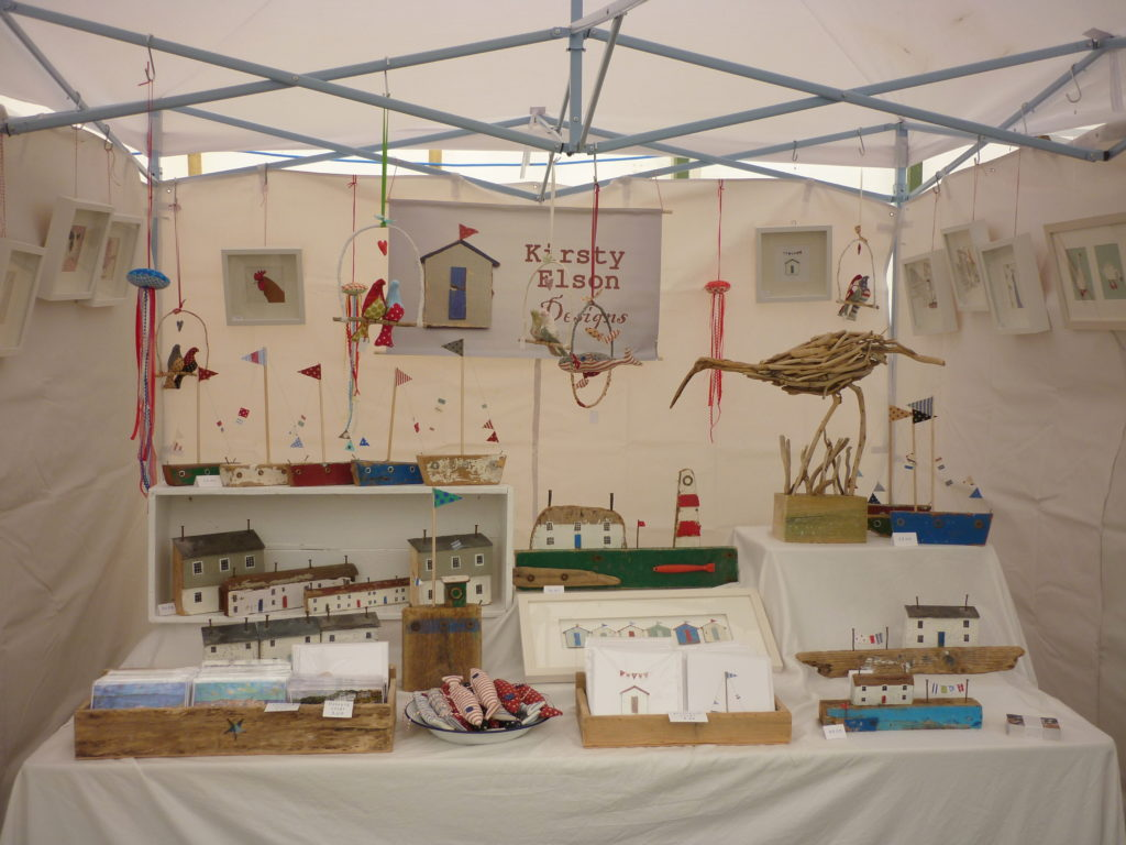 Craft fair display stand