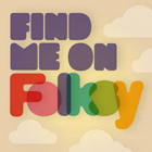 Find Me On Folksy - Blog Badge - Small version