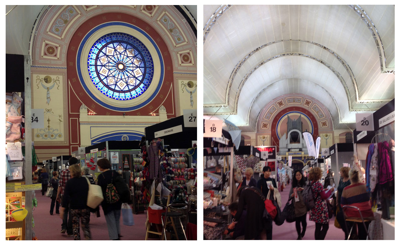 knitting and stitching show, venue,