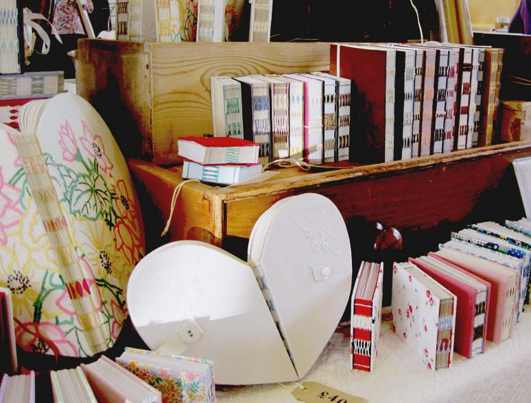 Kate Bowles, Masham, handbound books