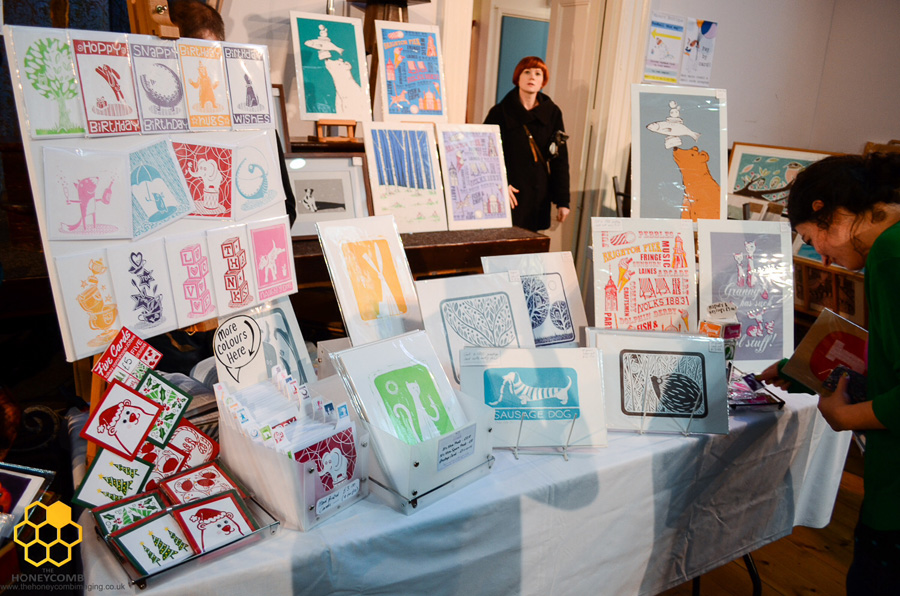 JD Bee, screenprints, craft stall, craft fair review, Brighton