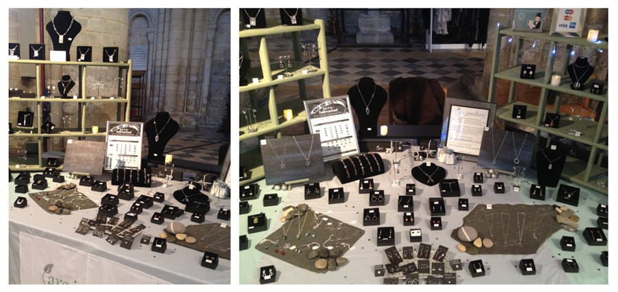 ARC jewellery at Ely, craft fair review, Ely Christmas market