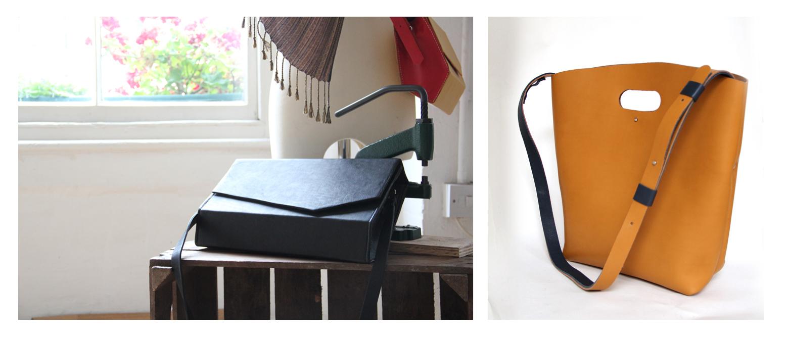 Kuku Big Bags, Folksy, Renegade Craft Fair, London craft, UK Handmade, handmade leather bags, cycle bags handmade, shoulder bags hand crafter, leather bright, yellow bag,