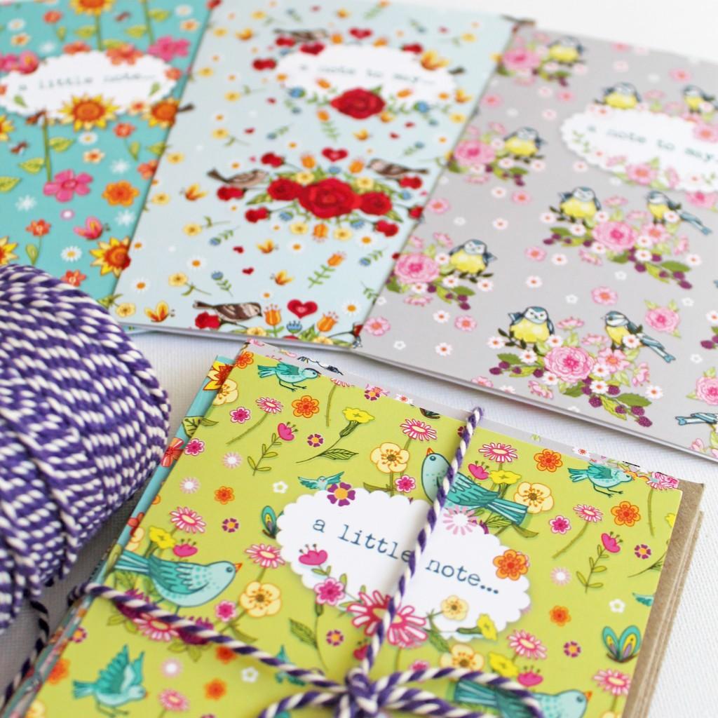 2- bloom notecards