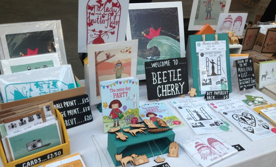 Beetle Cherry stand, Renegade Craft Fair