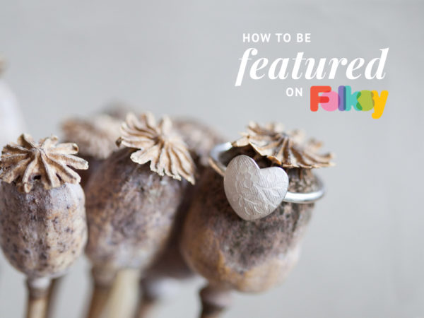 How to be featured on Folksy,
