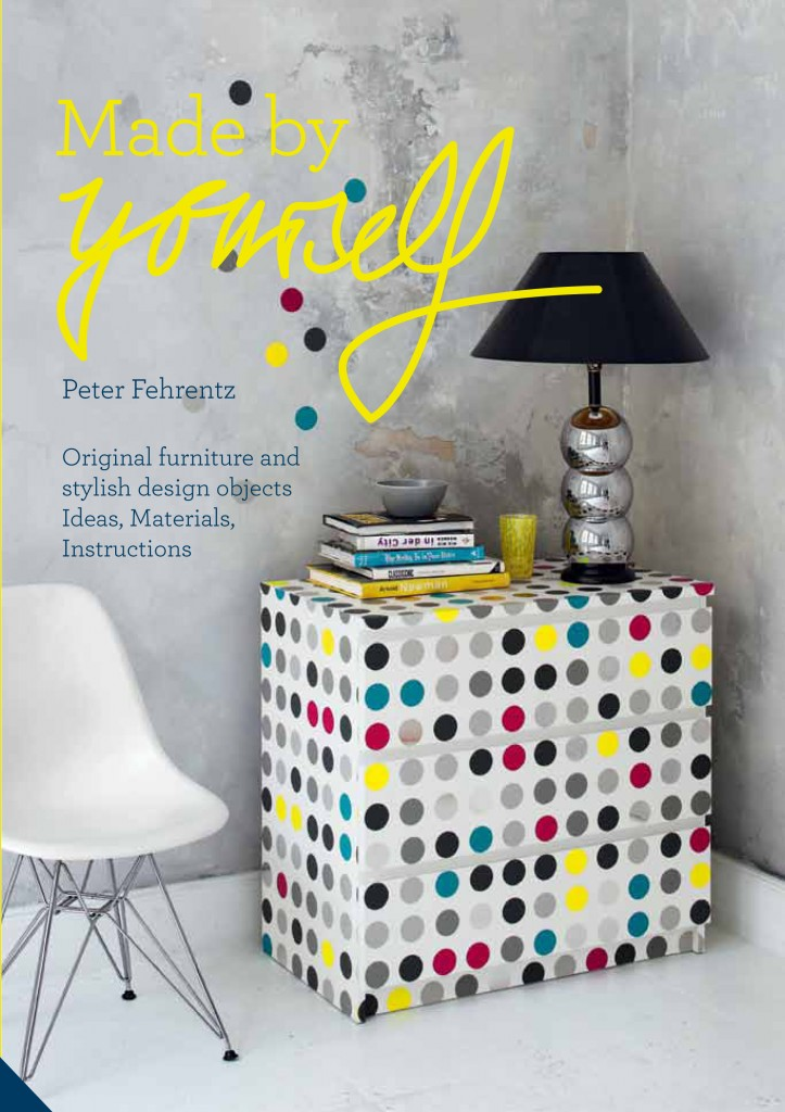 made by yourself, book review, peter fehrentz, DIY project, concrete lamp base, tutorials