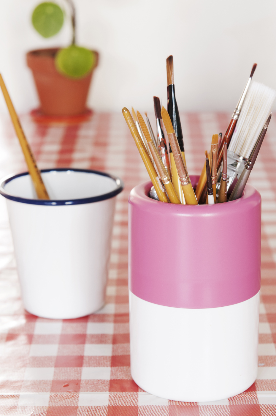 paint brushes, meet the maker, interview, red hand gang, abi simmons