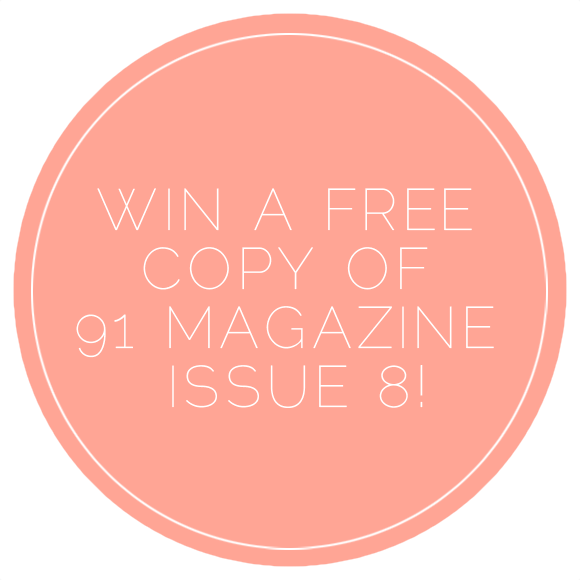 91 magazine giveaway, free copy, competition