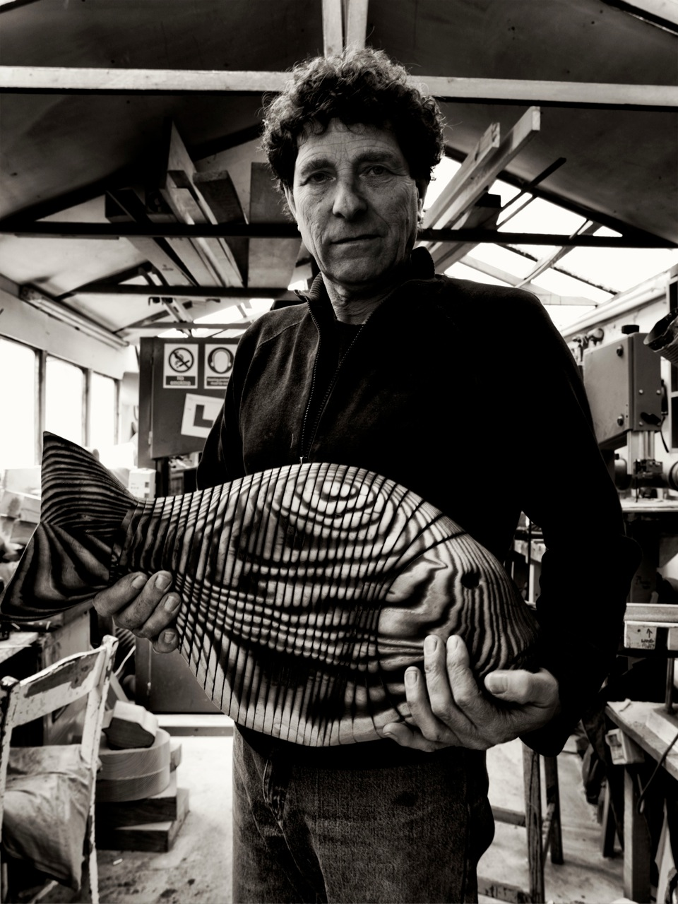 jeff soan with fish