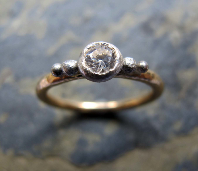 organic gold wedding ring, handmade wedding ring, wedding ring designer, how to be a successful jewellery designer,