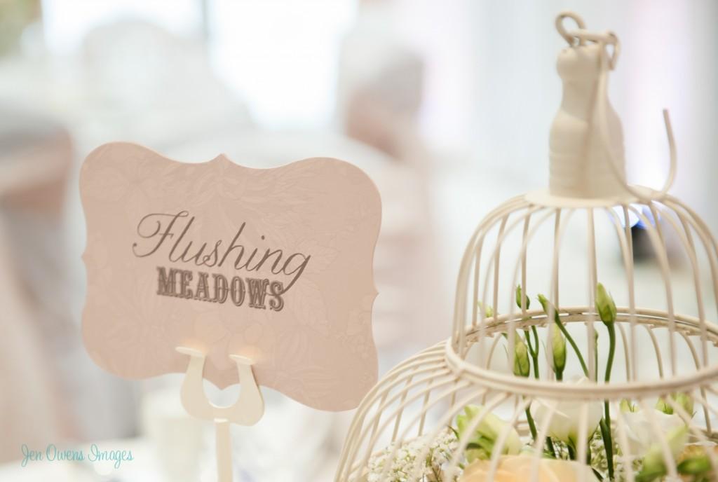 bespoke wedding stationery, love paper co., flushing meadows, table cards, handmade wedding, flushing meadows