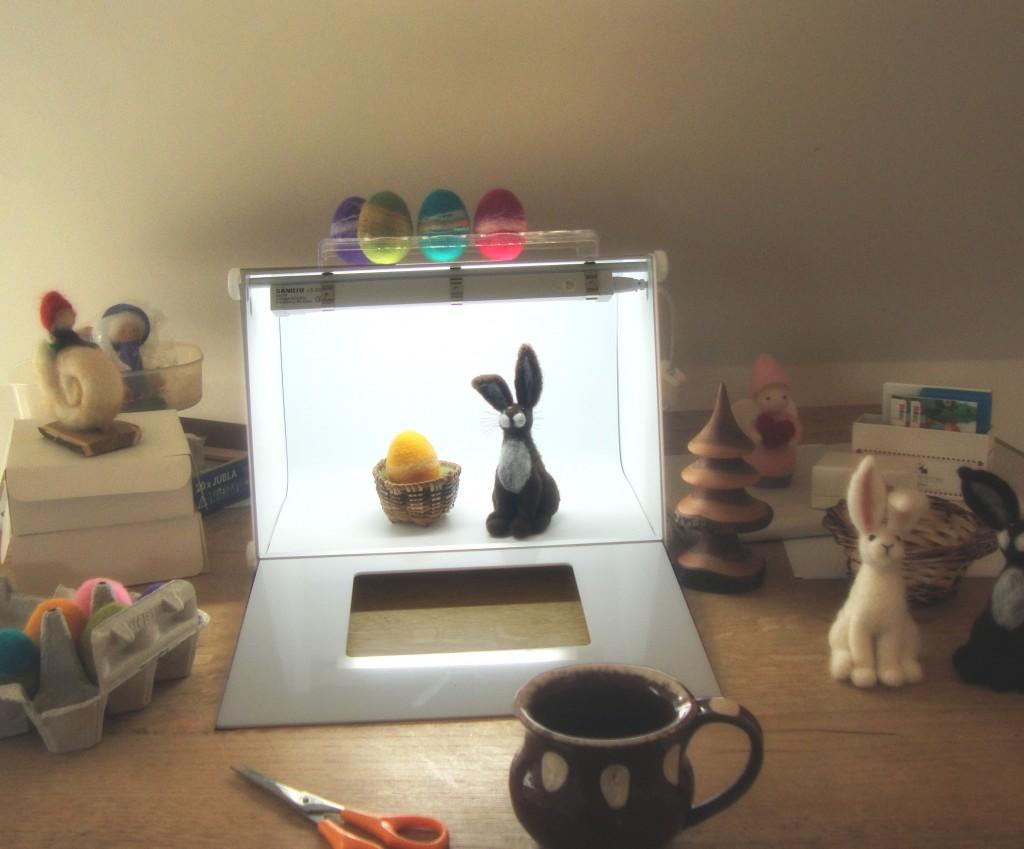 craft photography, photograph your handmade work, light box, product shots