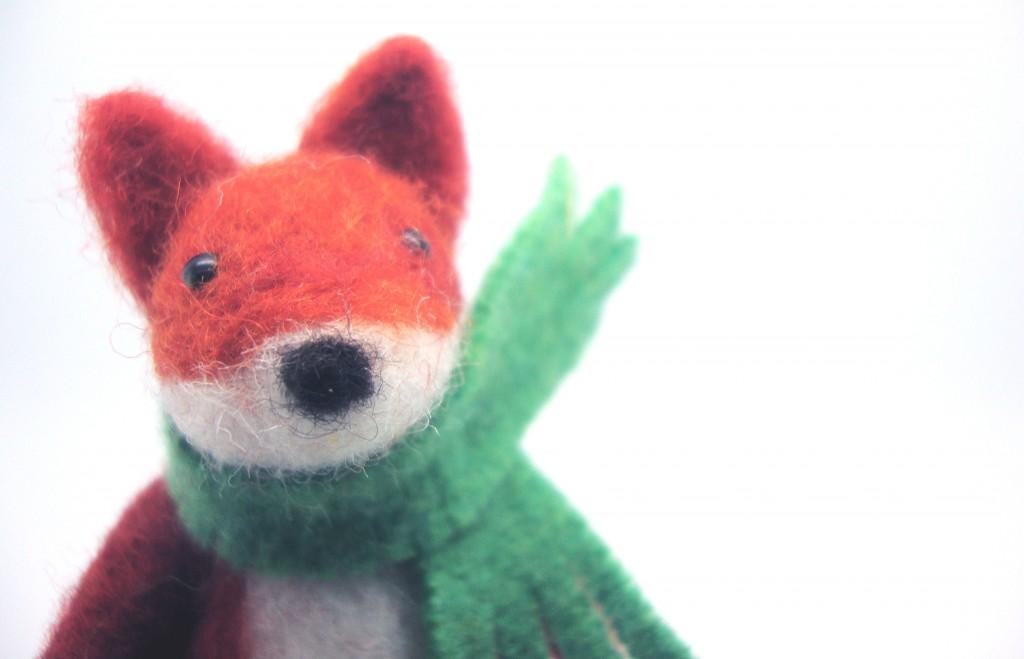 needle-felt fox, craft, fox, madame craig, interview, meet the maker