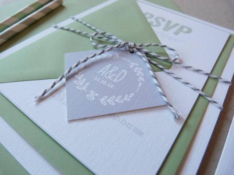 bespoke wedding invitations, love paper co, personalised wedding invites, typography, handmade wedding