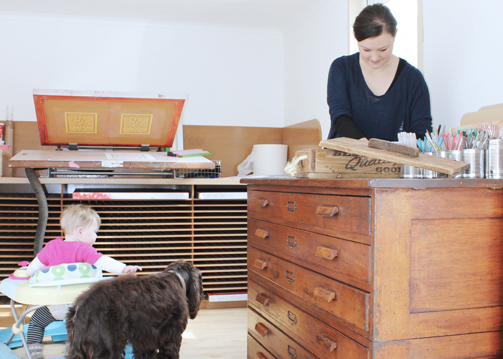 Chatty Nora interview, meet the maker, typography, shop tips, seller advice for Folksy,