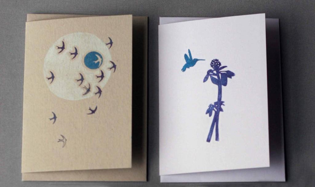 Frinn printmaking, cards, prints