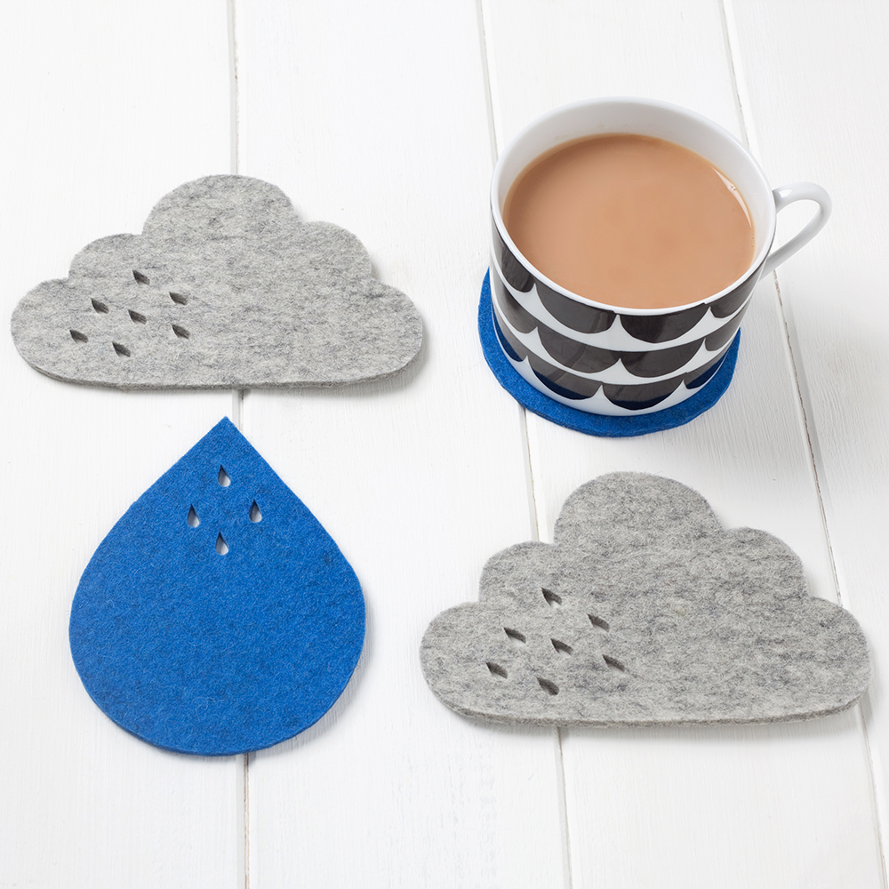 cloud and rain coasters, pygmy cloud