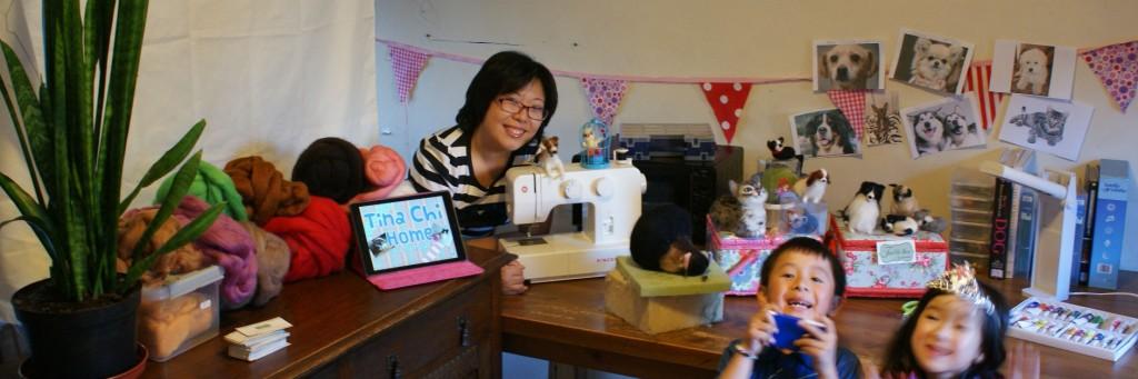 needle-felt, needle-felt, Tina Chi Home, interview