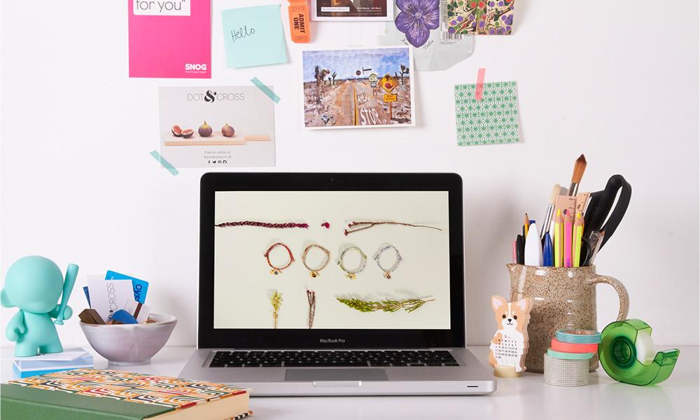 dot & cross studio, workspace, makers, interview, folksy, british craft, handmade gifts