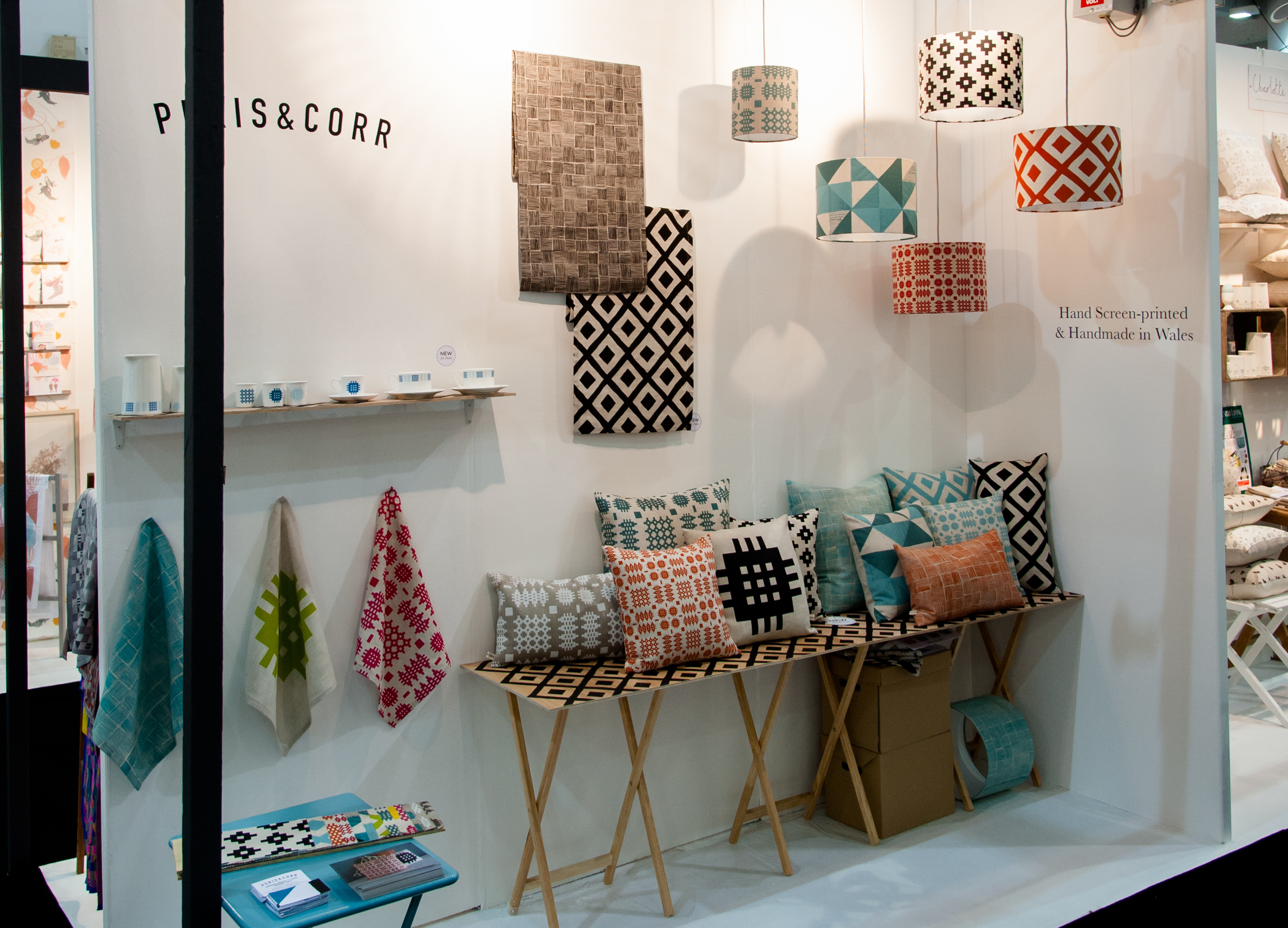 peris and corr, cushions, pulse trade show, trade show review, best of Pulse 2014, tips for designers, selling at a trade show