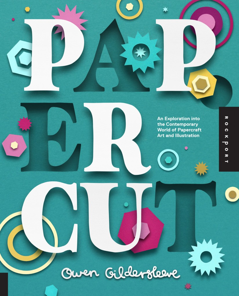 win a copy of papercut by owen gildersleeve, giveaway, competition, papercraft