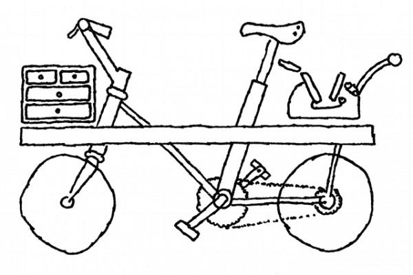 printing bike project, letterpress collective, kickstarter