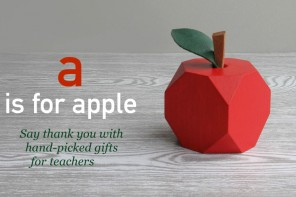 An apple for teacher : say thank you with a hand-picked gift