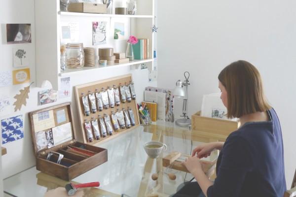 emma higgins, billet doux, printmaker, lino prints, reduction lino