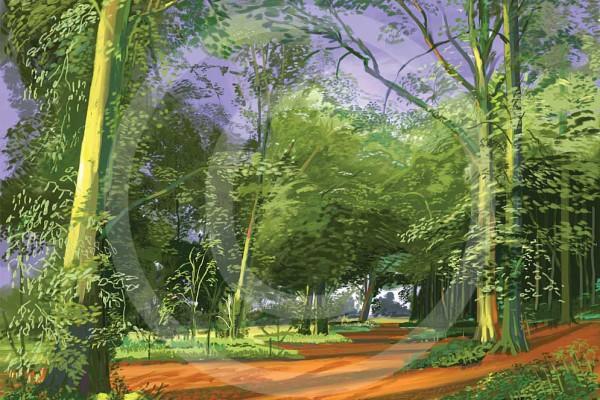 Andy Maitland, ipad art, digital art