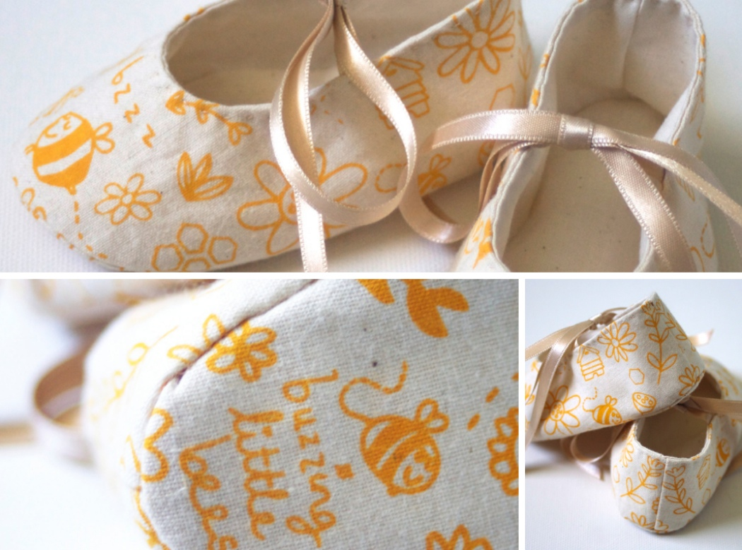 so small shoes, screen-printed baby shoes, mellybee