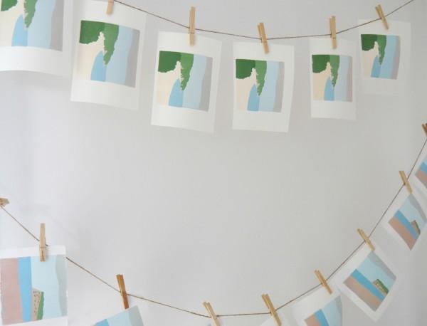 emma higgins, printmaker, linoprint, linocut, interview