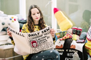 The girl who sewed a Cornershop