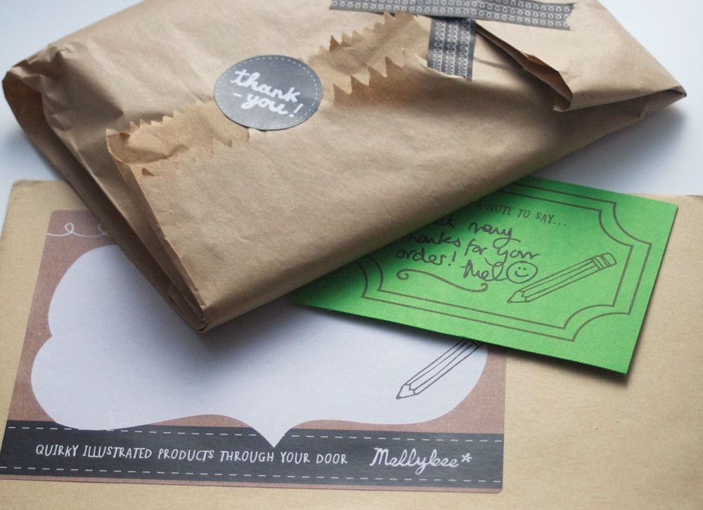 postal packaging ideas, packaging ideas for craft, sticker design, envelope sticker