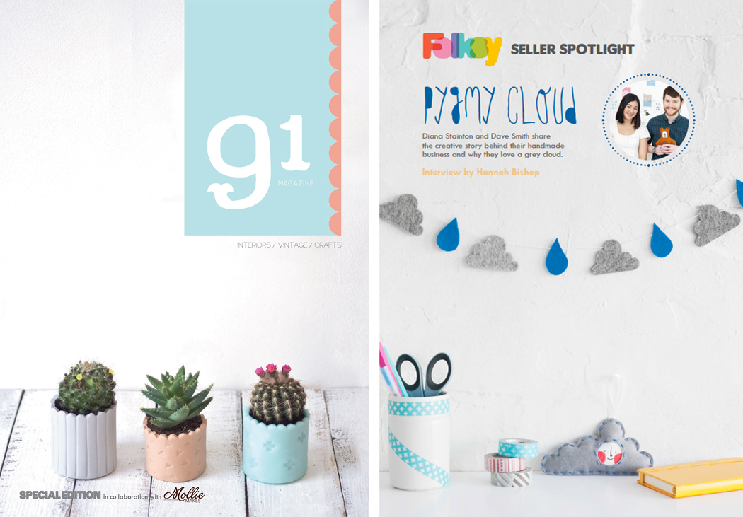 91 magazine, mollie makes, giveaway, competition