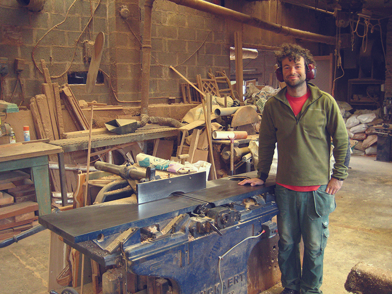 tom provost, cabinet maker, custom made woodwork