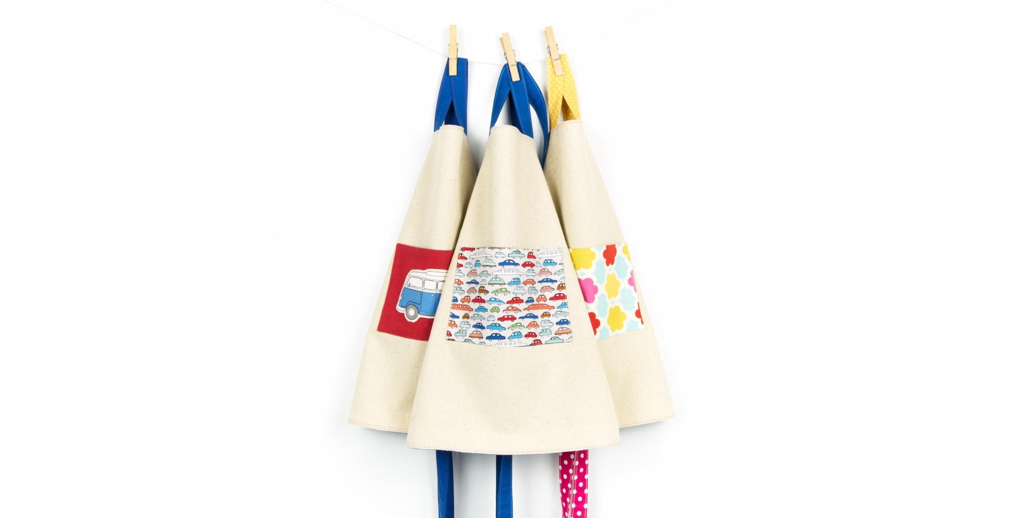 kids aprons, handmade by Beledien