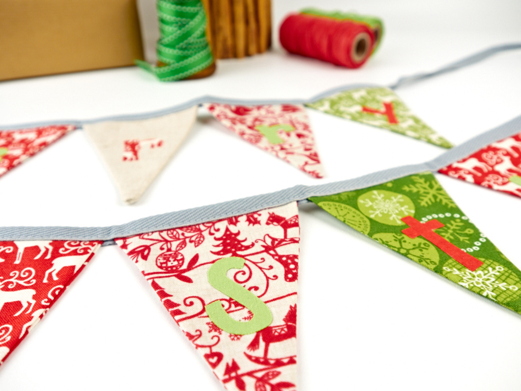 christmas bunting handmade, tips for selling at christmas