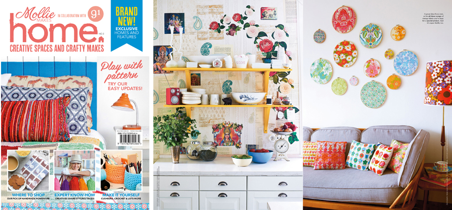 Mollie Makes Home 3, 91 Magazine, Pygmy Cloud, giveaway, competition
