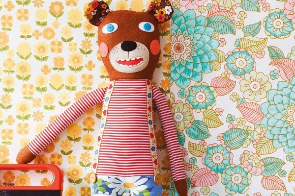 chloe tells you how to sew, fabric bear tutorial, giveaway