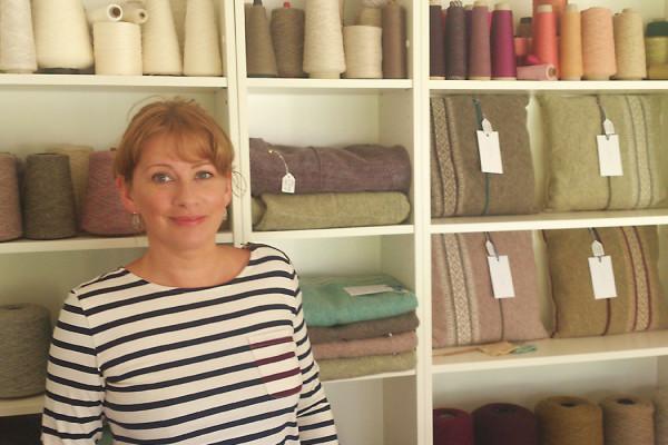 Knitwear Designer, Meet the Maker Interview, Folksy Blog , Selvage, Rachel Collins