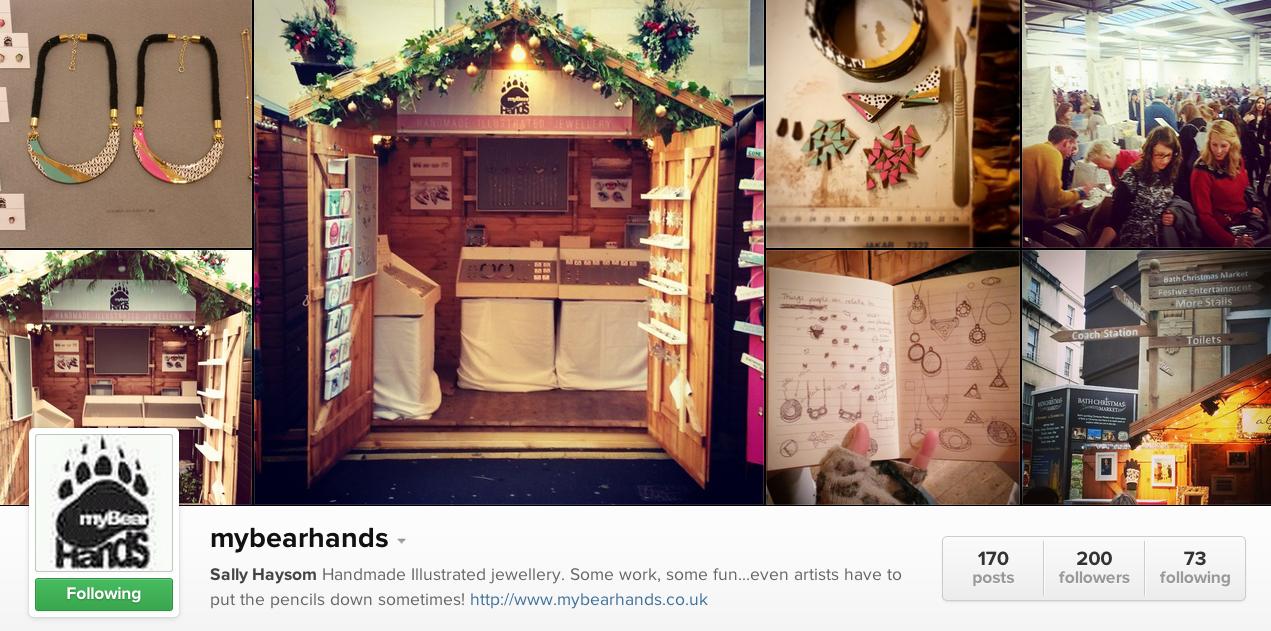 my bear hands, mybearhands, instagram, social media tips for jewellers