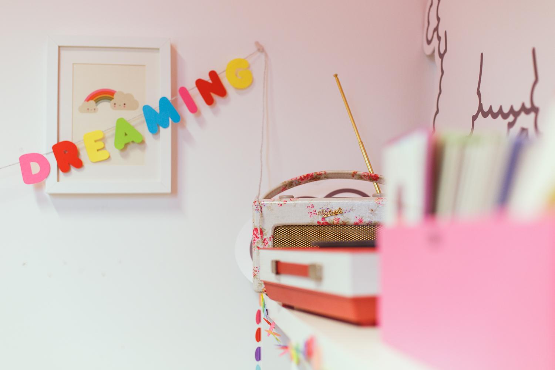 studio binky, dreaming garland, cloud print