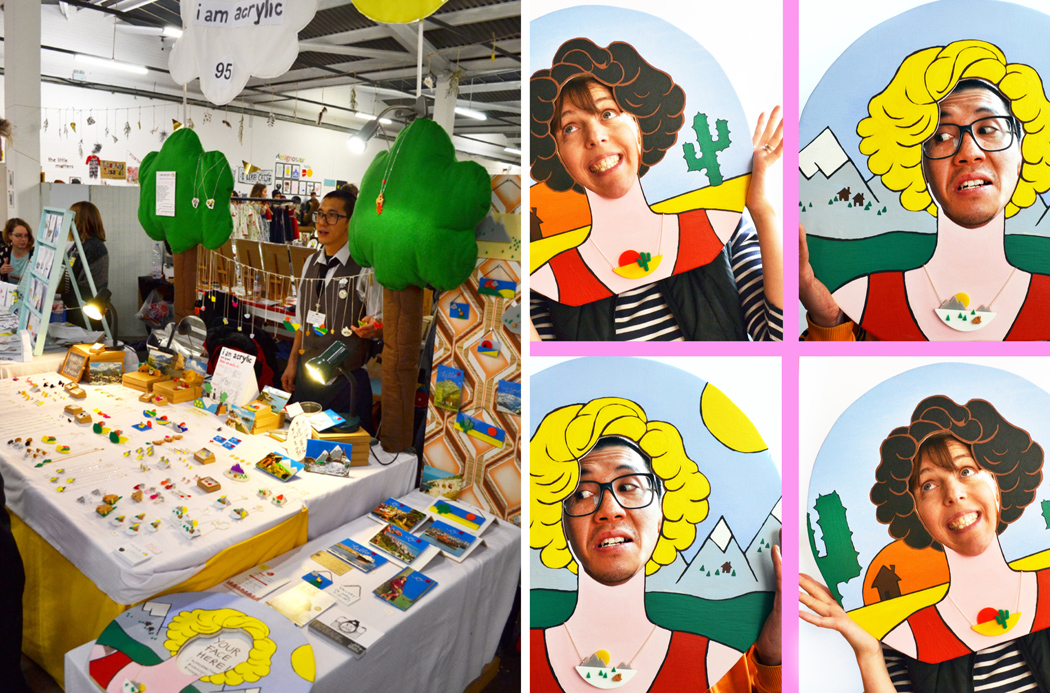 I am acrylic, renegade craft fair London, stall display, craft fair display advice, ideas